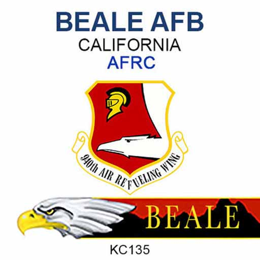 Beale Air Force Base Logo