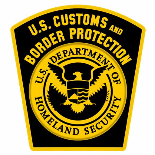 US Boarder Patrol Patch